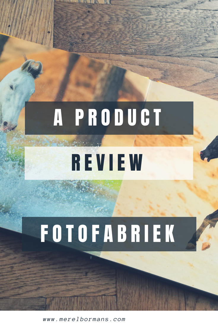 FotoFabriek was named photobooksupplier of the year 2017. In this review you can read what I thought of the book!