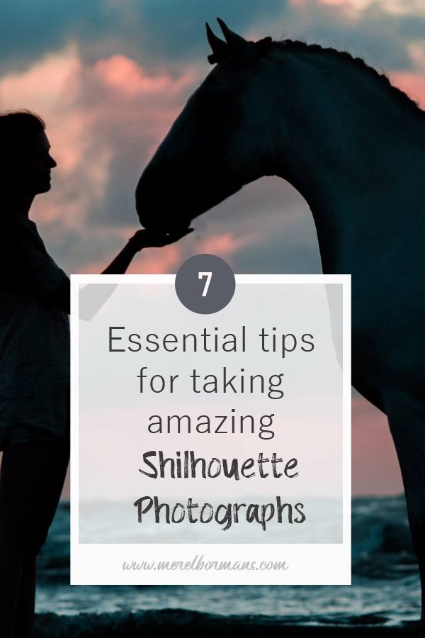 Silhouette photographs are amazing! Do you want to know how to make them? Read my 7 essential tips!