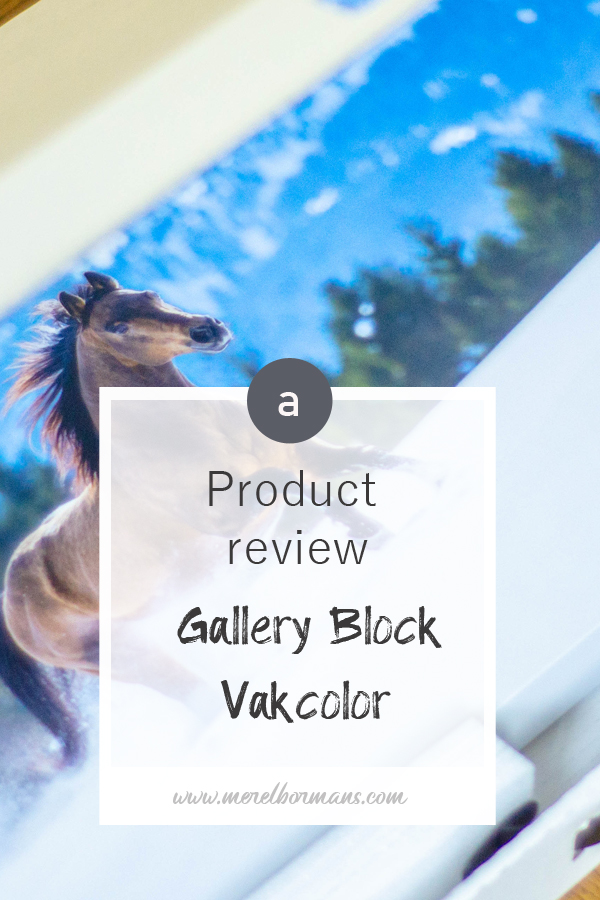 Tired of the same old canvas every time? Try a gallery block from vakcolor! Want to know what I thought about this product? Read my blogpost!