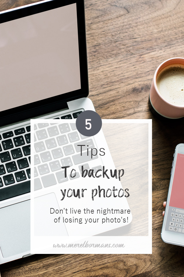 Is your worst nightmare to loose all your photographs one day? Don't wait for that day and use this tips to have a good nights sleep!