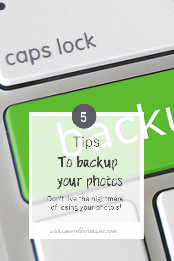 My toptips for a proper backup schedule for your photographs. Don't loose them!